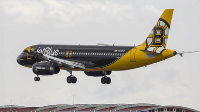 N632JB - JetBlue Airways Airbus A320