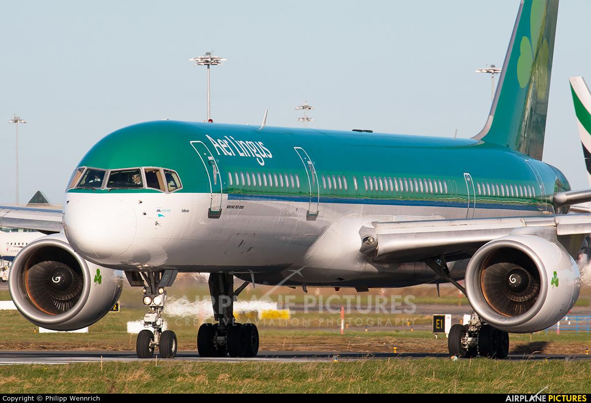 Aer Lingus EI-LBR aircraft at Dublin