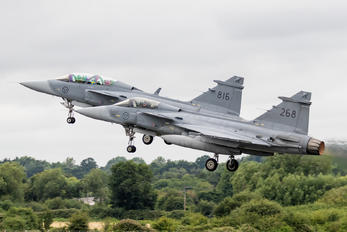 268 - Sweden - Air Force SAAB JAS 39C Gripen