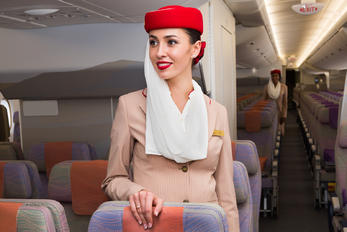 A6-EUV - - Aviation Glamour - Aviation Glamour - Flight Attendant