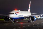 G-YMME - British Airways Boeing 777-200 aircraft