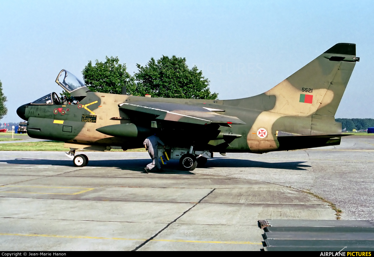Portugal - Air Force 5521 aircraft at St Truiden/Bruste