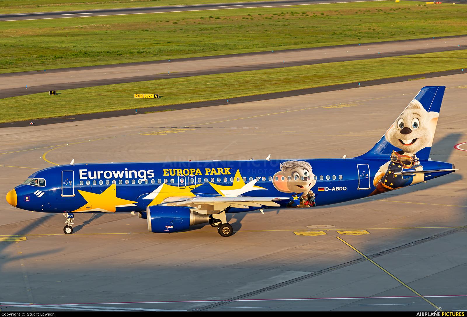 Eurowings D-ABDQ aircraft at Cologne Bonn - Konrad Adenauer