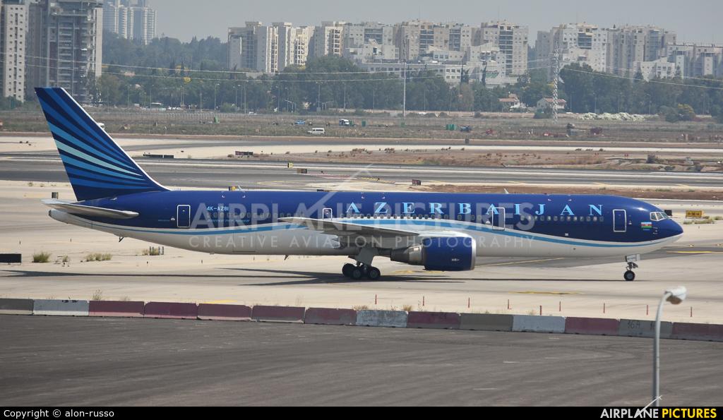 Azerbaijan Airlines 4K-AZ81 aircraft at Tel Aviv - Ben Gurion