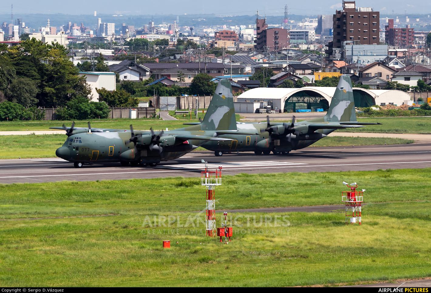 Japan - Air Self Defence Force 75-1077 aircraft at Nagoya - Komaki AB