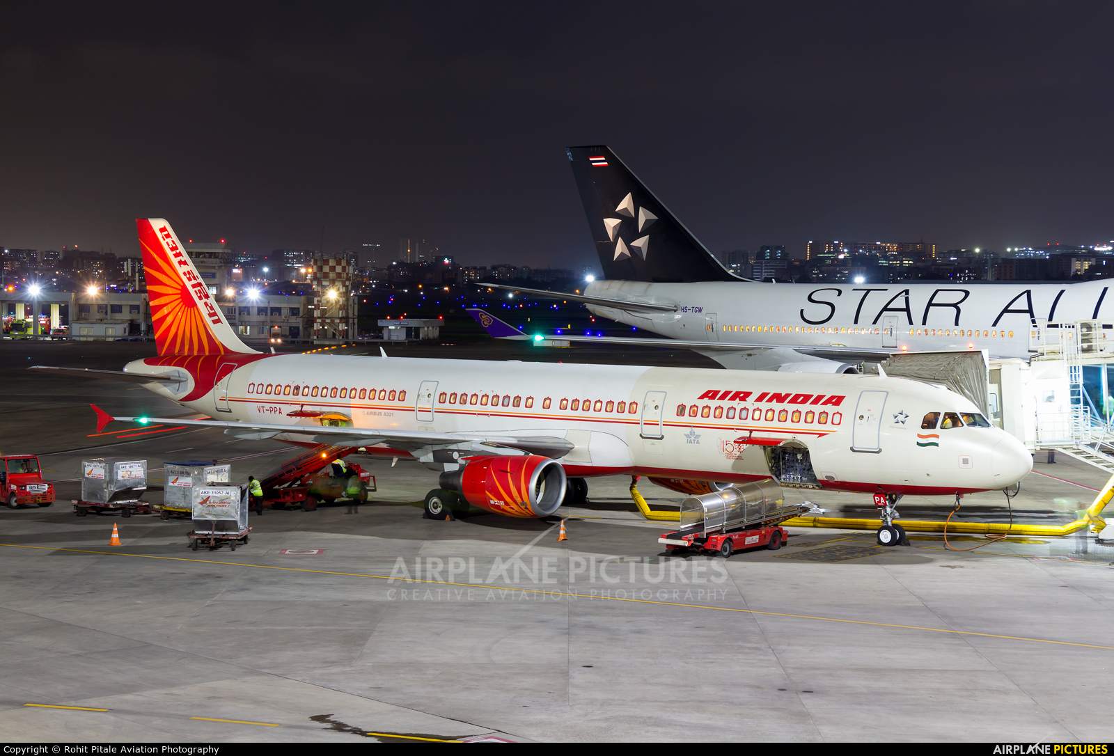 Air India VT-PPA aircraft at Mumbai - Chhatrapati Shivaji Intl