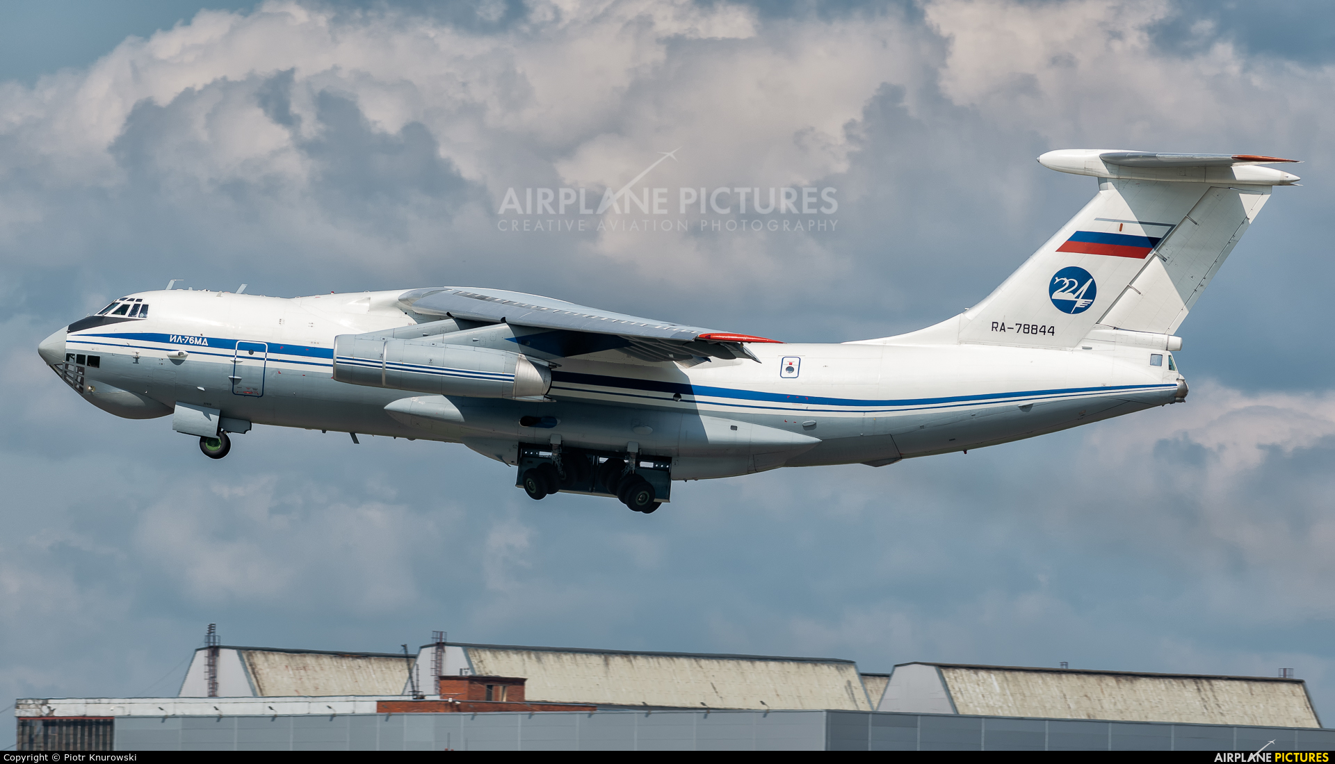 Russia - Air Force RA-78844 aircraft at Moscow - Vnukovo