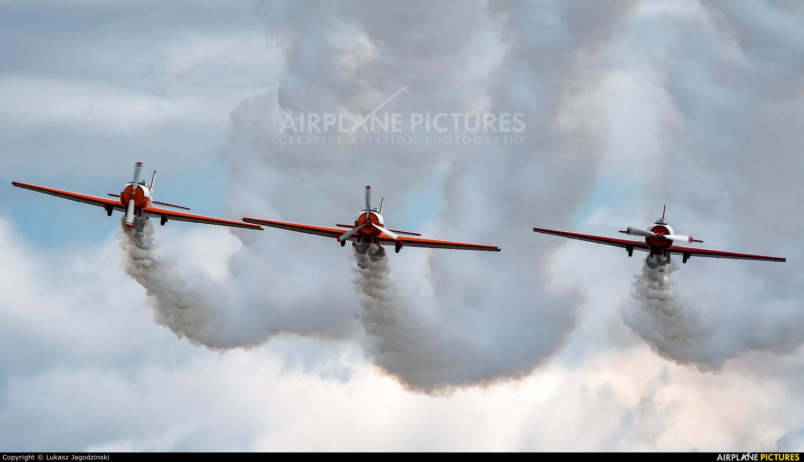 ANBO aerobatic team LY-ANP aircraft at Kętrzyn - Wilamowo