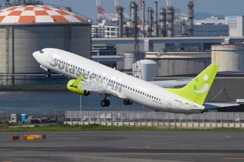 JA803X - Solaseed Air - Skynet Asia Airways Boeing 737-800