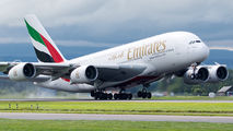 A6-EED - Emirates Airlines Airbus A380 aircraft
