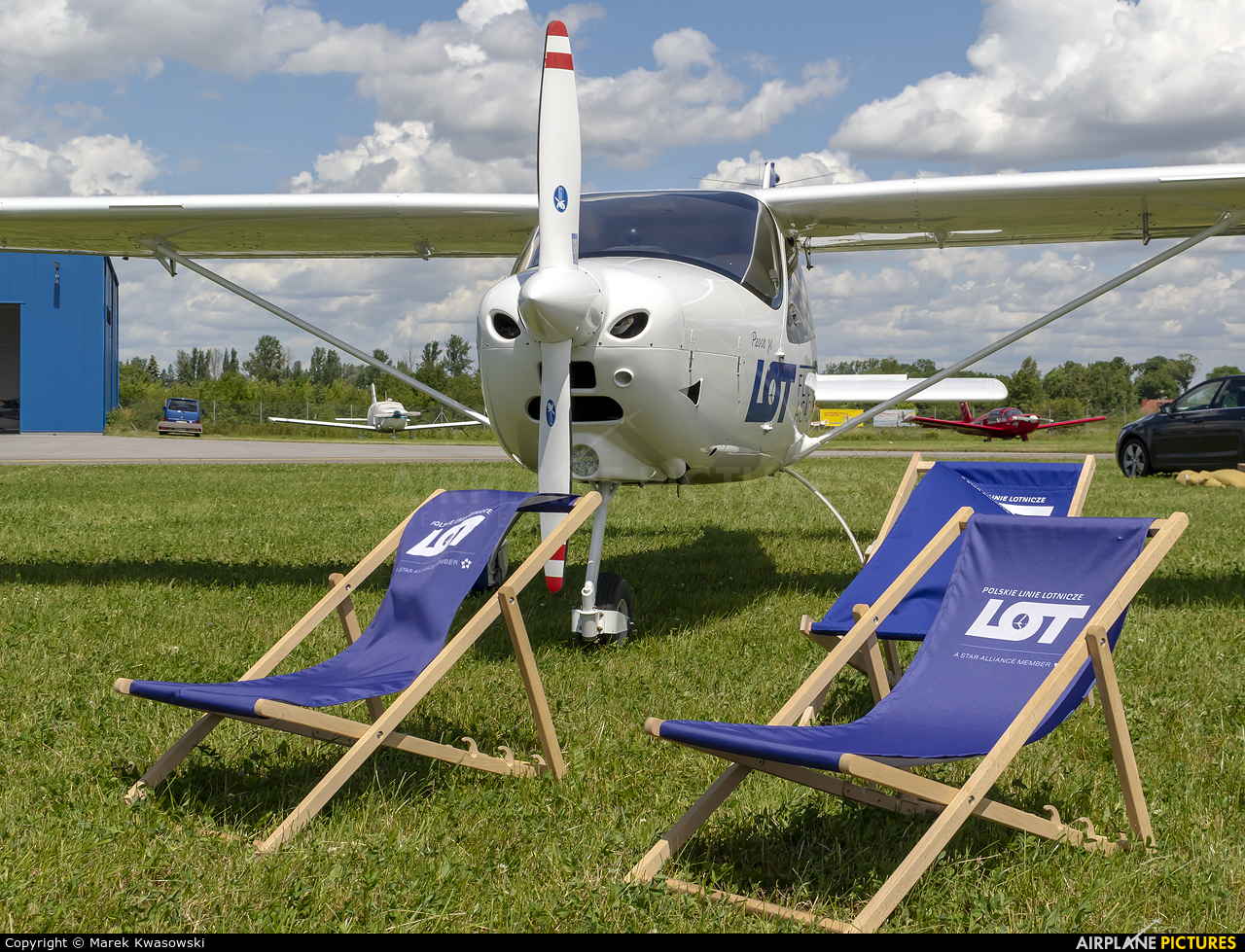LOT Flight Academy SP-LFC aircraft at Piotrków Trybunalski