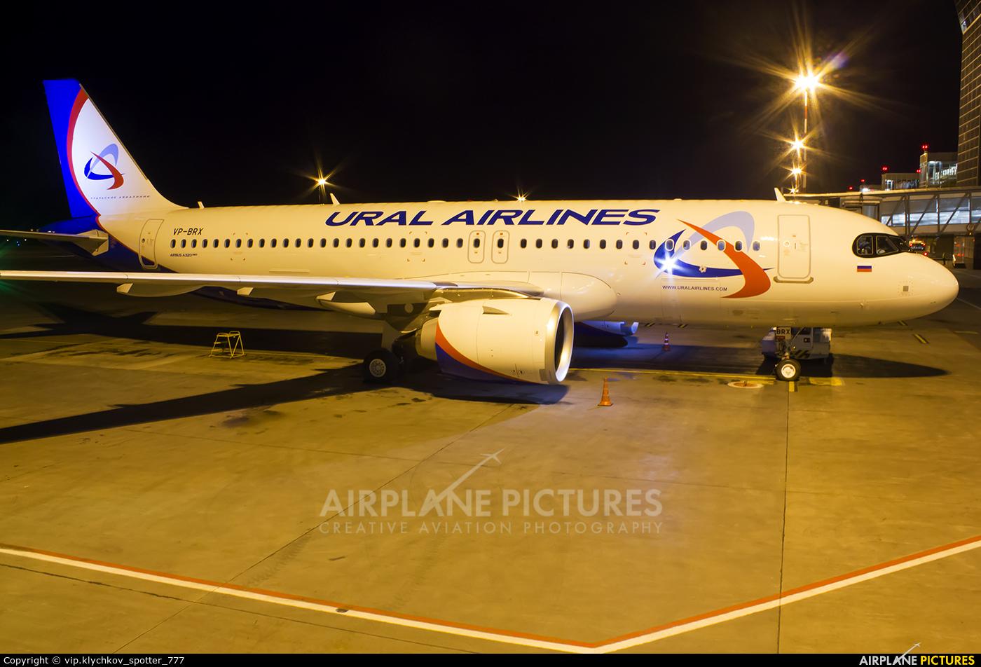 Ural Airlines VP-BRX aircraft at Koltsovo - Ekaterinburg
