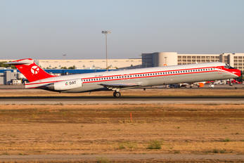 OY-RUT - Danish Air Transport McDonnell Douglas MD-82