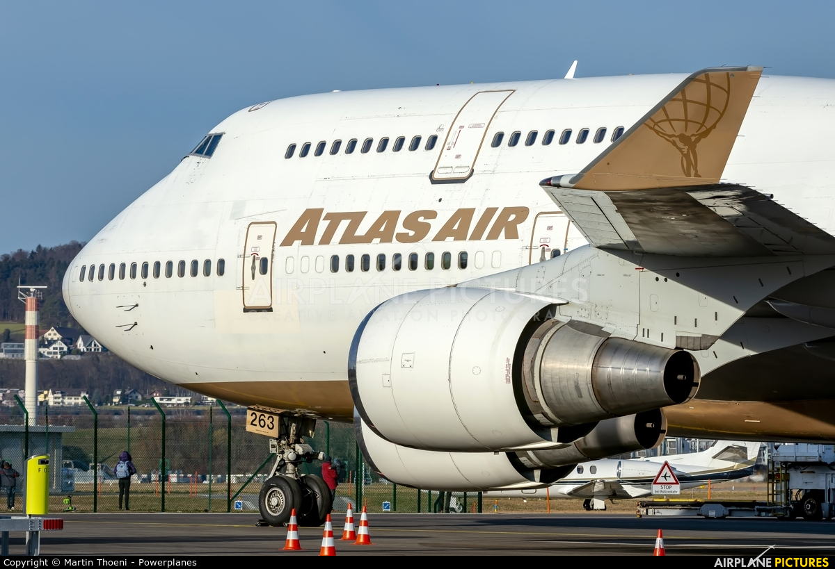 Atlas Air N263SG aircraft at Zurich
