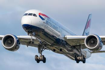 G-ZBKH - British Airways Boeing 787-9 Dreamliner