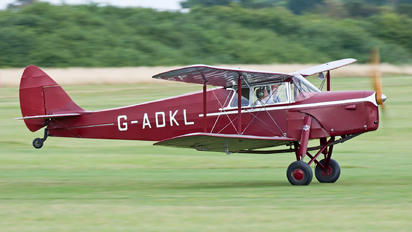 G-ADKL - Private de Havilland DH. 87 Hornet Moth