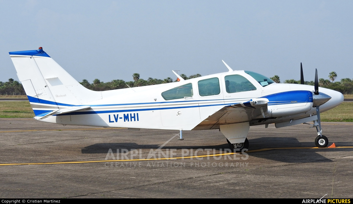 Argentina - Government LV-MHI aircraft at Formosa Intl