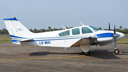 LV-MHI - Argentina - Government Beechcraft 95 Baron