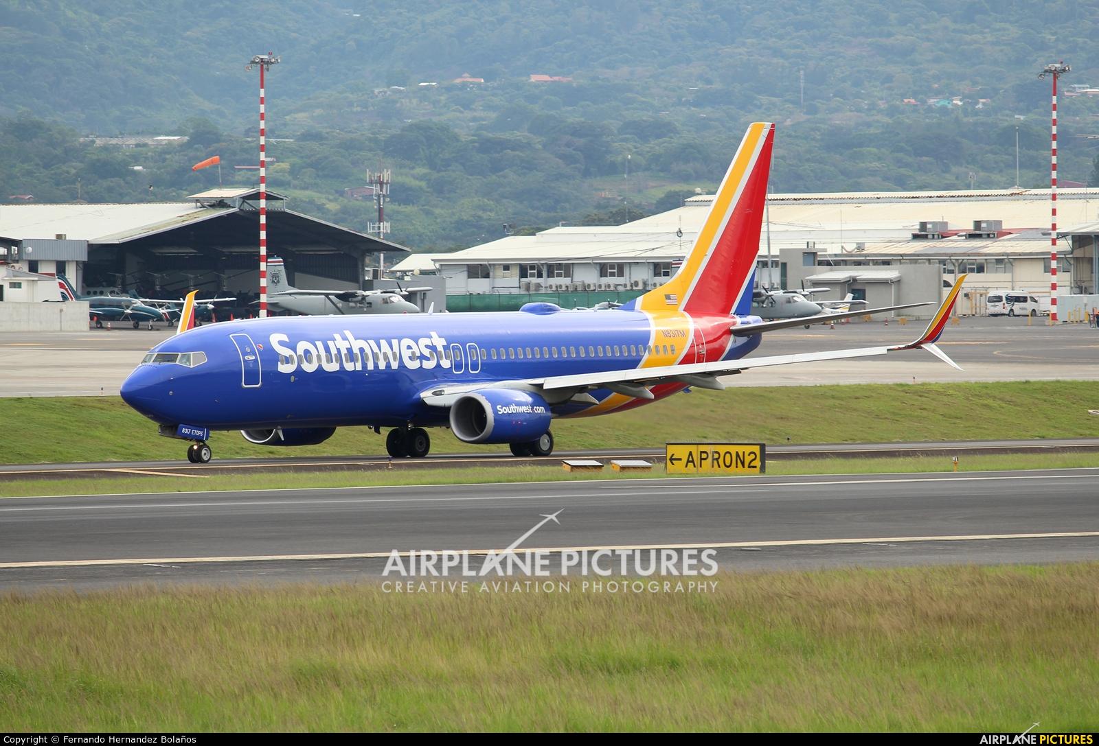 Southwest Airlines N8317M aircraft at San Jose - Juan Santamaría Intl