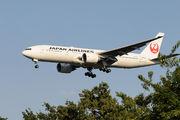 JA711J - JAL - Japan Airlines Boeing 777-200ER aircraft