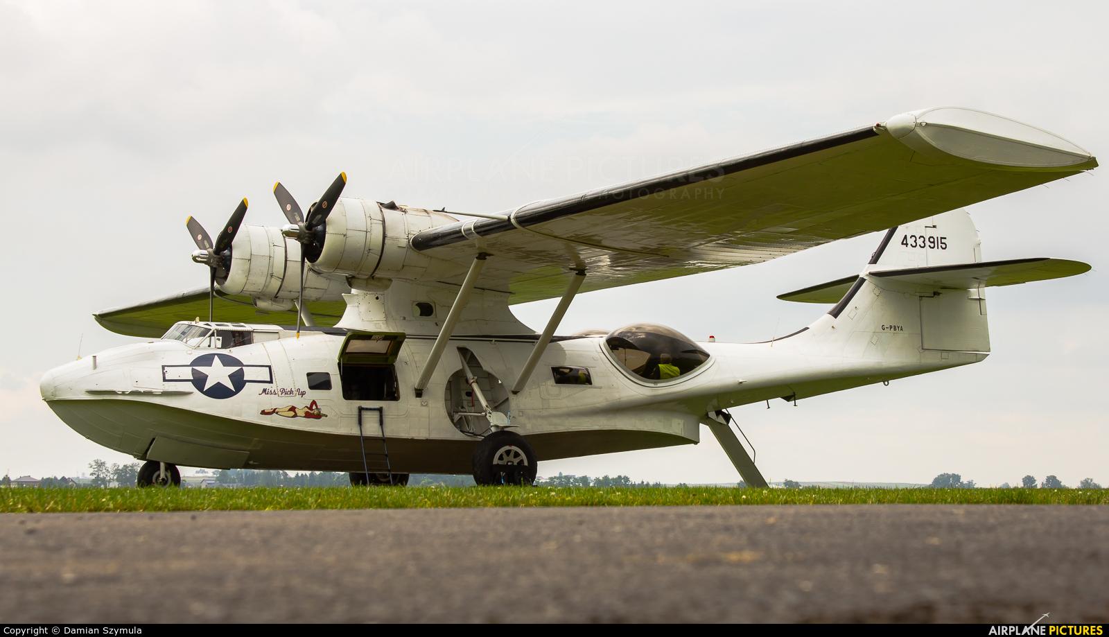 Catalina Aircraft G-PBYA aircraft at Kraków - Pobiednik Wielki
