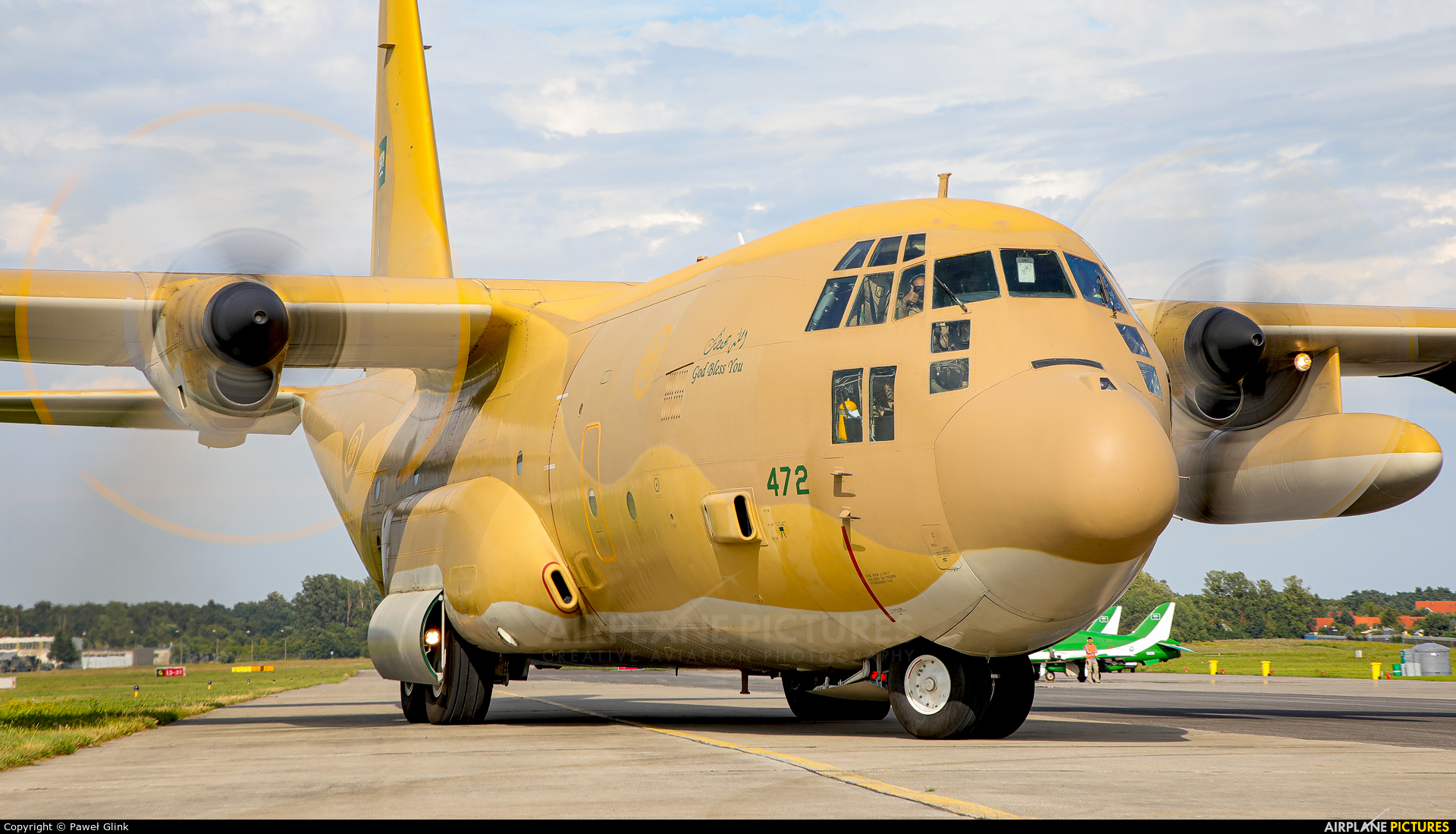 Saudi Arabia - Air Force 472 aircraft at Gdynia- Babie Doły (Oksywie)