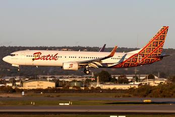 PK-LBJ - Batik Air Boeing 737-900ER