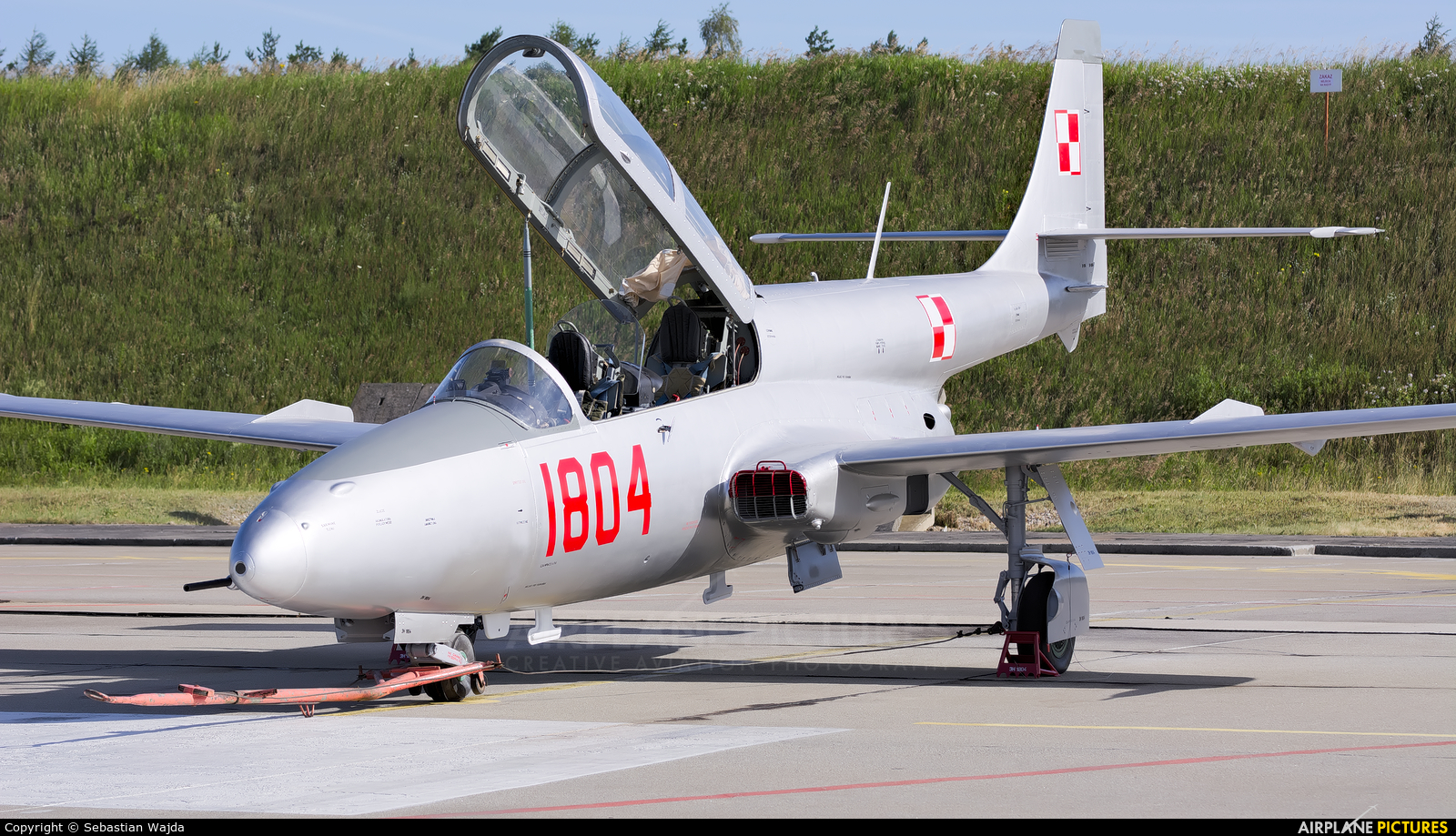 Poland - Air Force 1804 aircraft at Świdwin