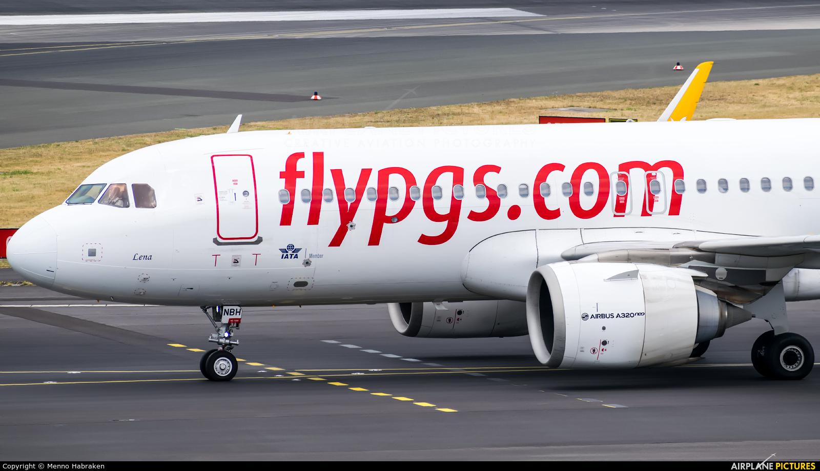 Pegasus TC-NBH aircraft at Düsseldorf