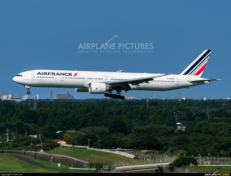 Air France F-GZNK aircraft at Tokyo - Narita Intl