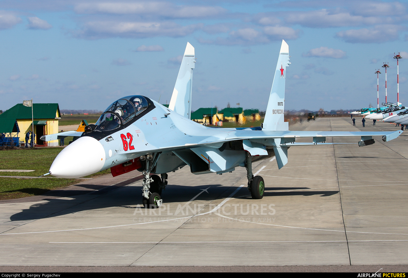Russia - Air Force 62 aircraft at Undisclosed Location