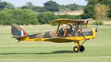 Private de Havilland DH. 82 Tiger Moth G-AOGR at Old Warden airport