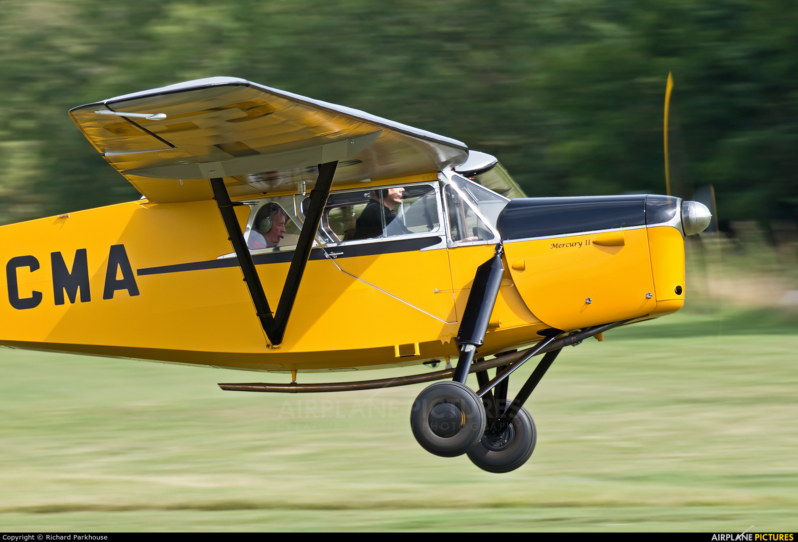 Private G-ACMA aircraft at Old Warden