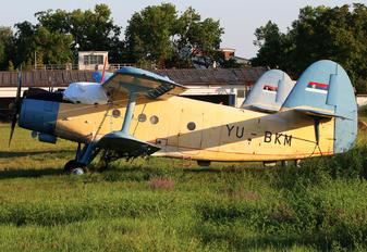 YU-BKM - JAT Privredna Avijacija PZL An-2
