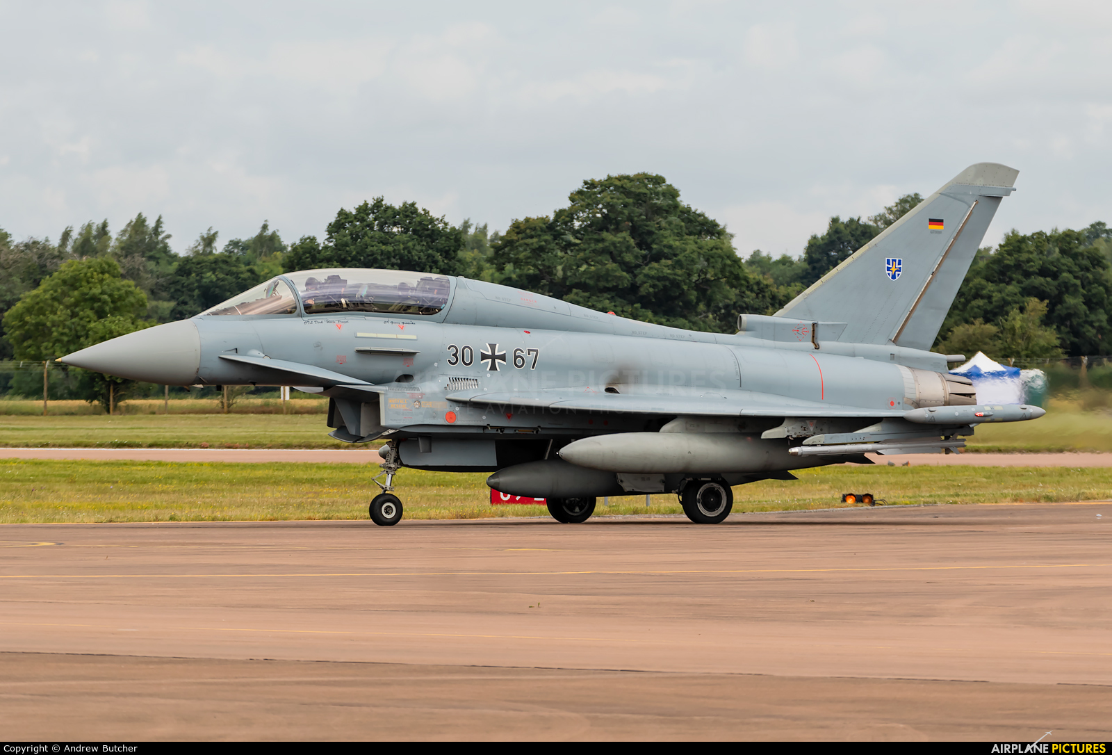 Germany - Air Force 30+67 aircraft at Fairford