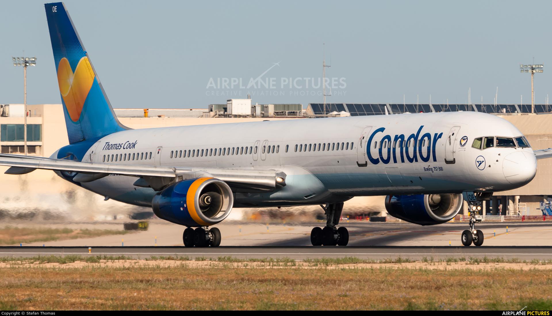 Condor D-ABOE aircraft at Palma de Mallorca