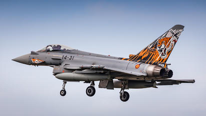 14-31 - Spain - Air Force Eurofighter Typhoon