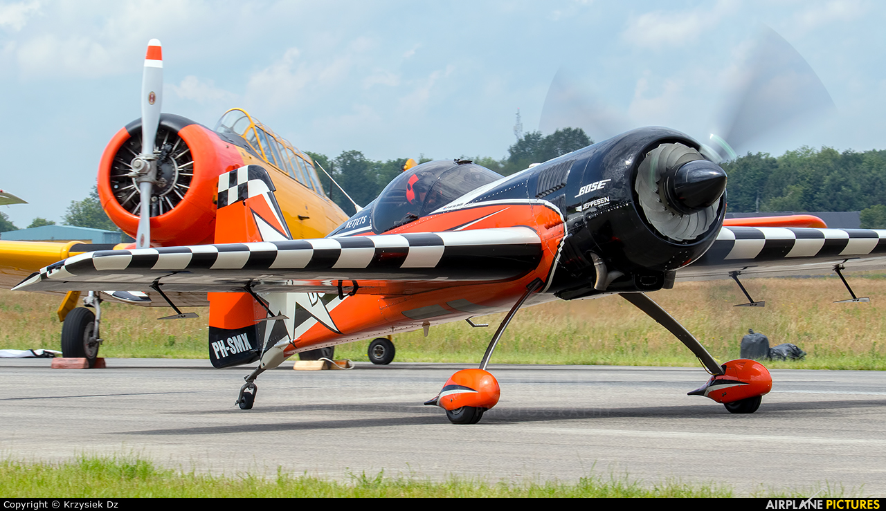 Private PH-SMX aircraft at Uden - Volkel