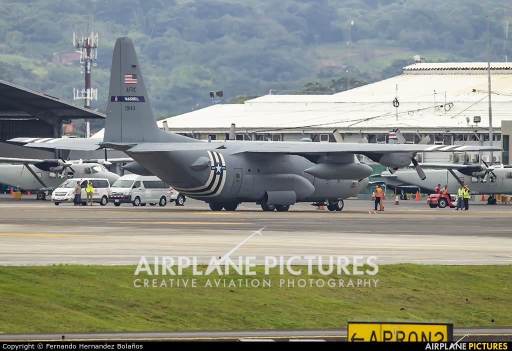 USA - Air Force 91-9143 aircraft at San Jose - Juan Santamaría Intl