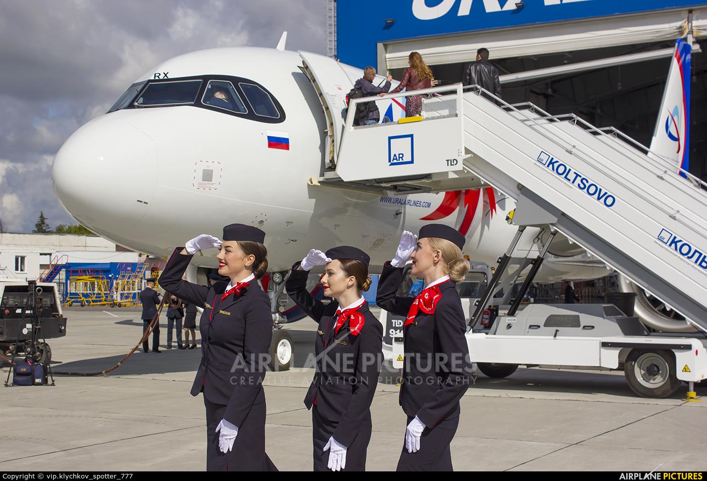 - Aviation Glamour VP-BRX aircraft at Koltsovo - Ekaterinburg