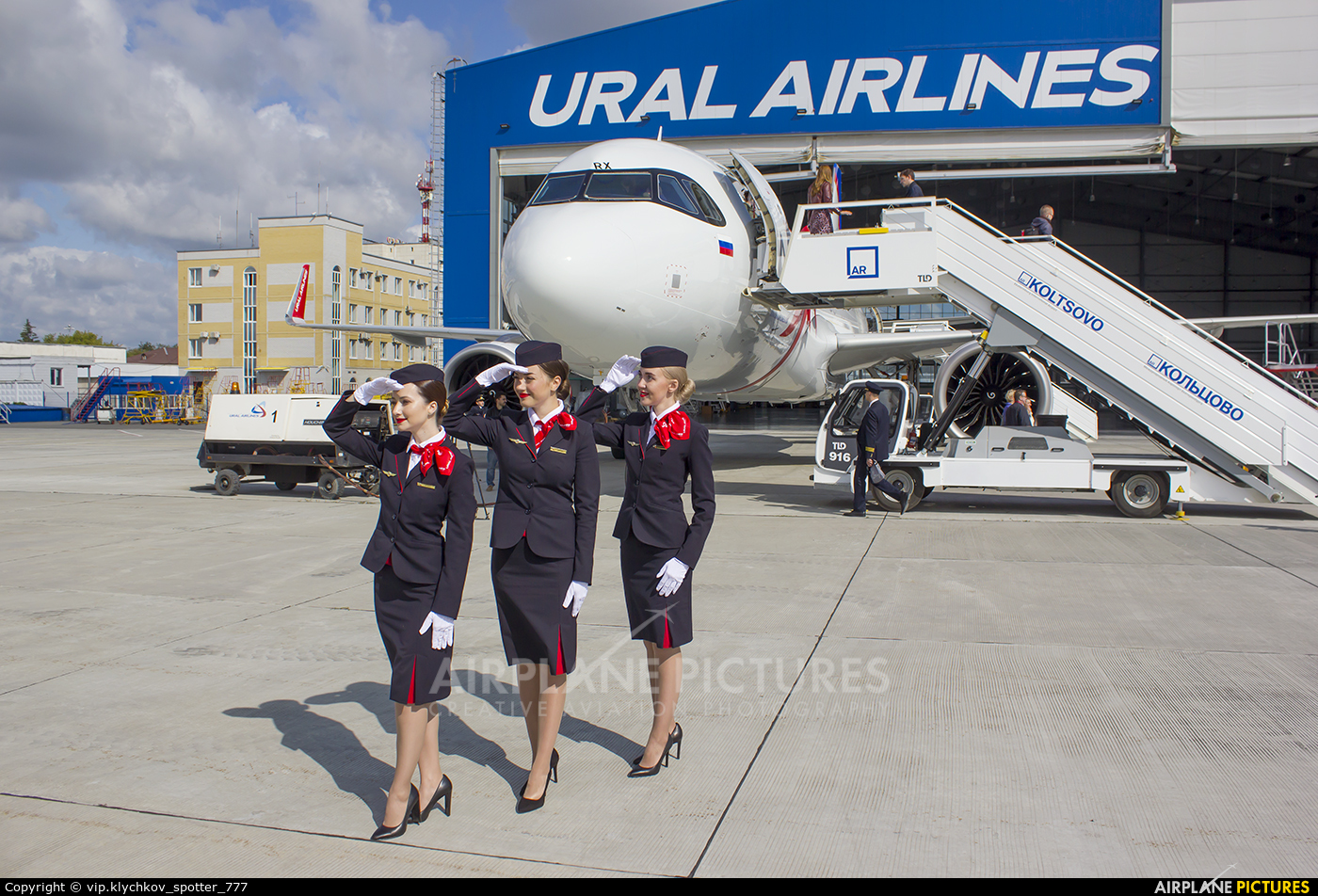 - Aviation Glamour VP-BRX aircraft at Koltsovo - Ekaterinburg