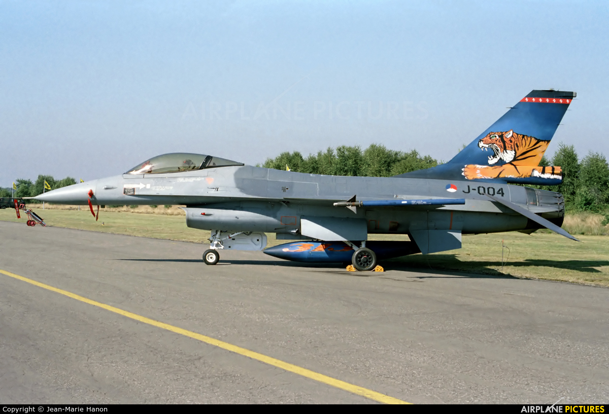 Netherlands - Air Force J-004 aircraft at Kleine Brogel