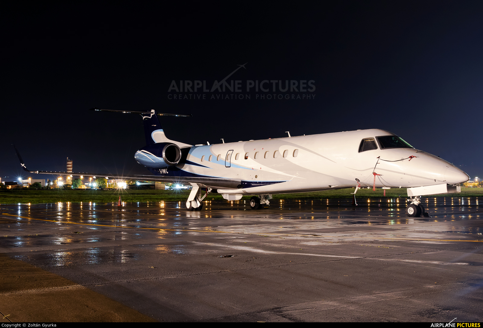 London Executive Aviation G-THFC aircraft at Cluj Napoca - Someseni