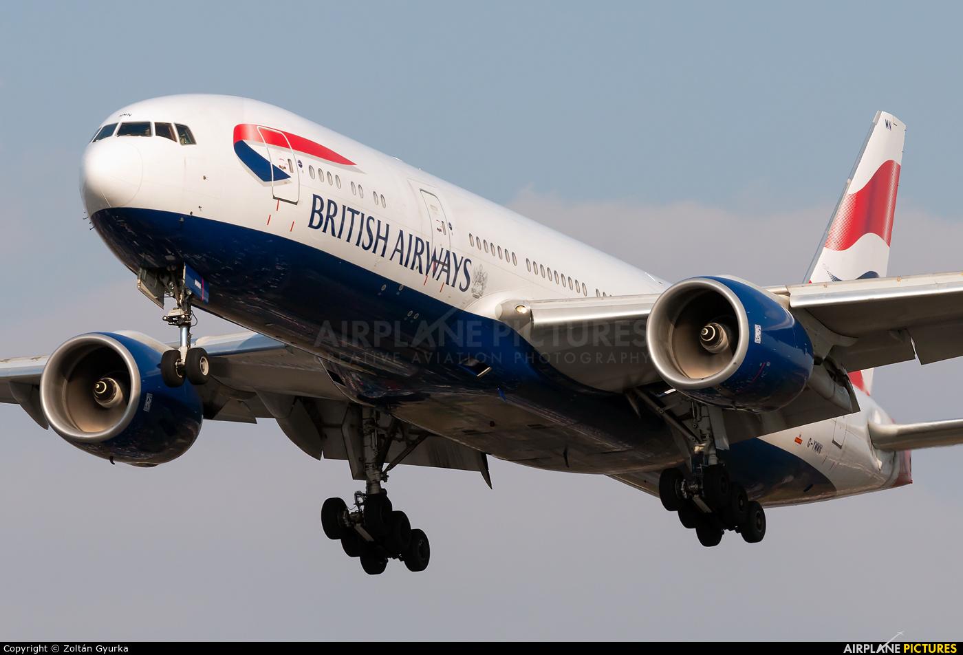British Airways G-YMMN aircraft at London - Heathrow