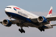 G-YMMN - British Airways Boeing 777-200 aircraft