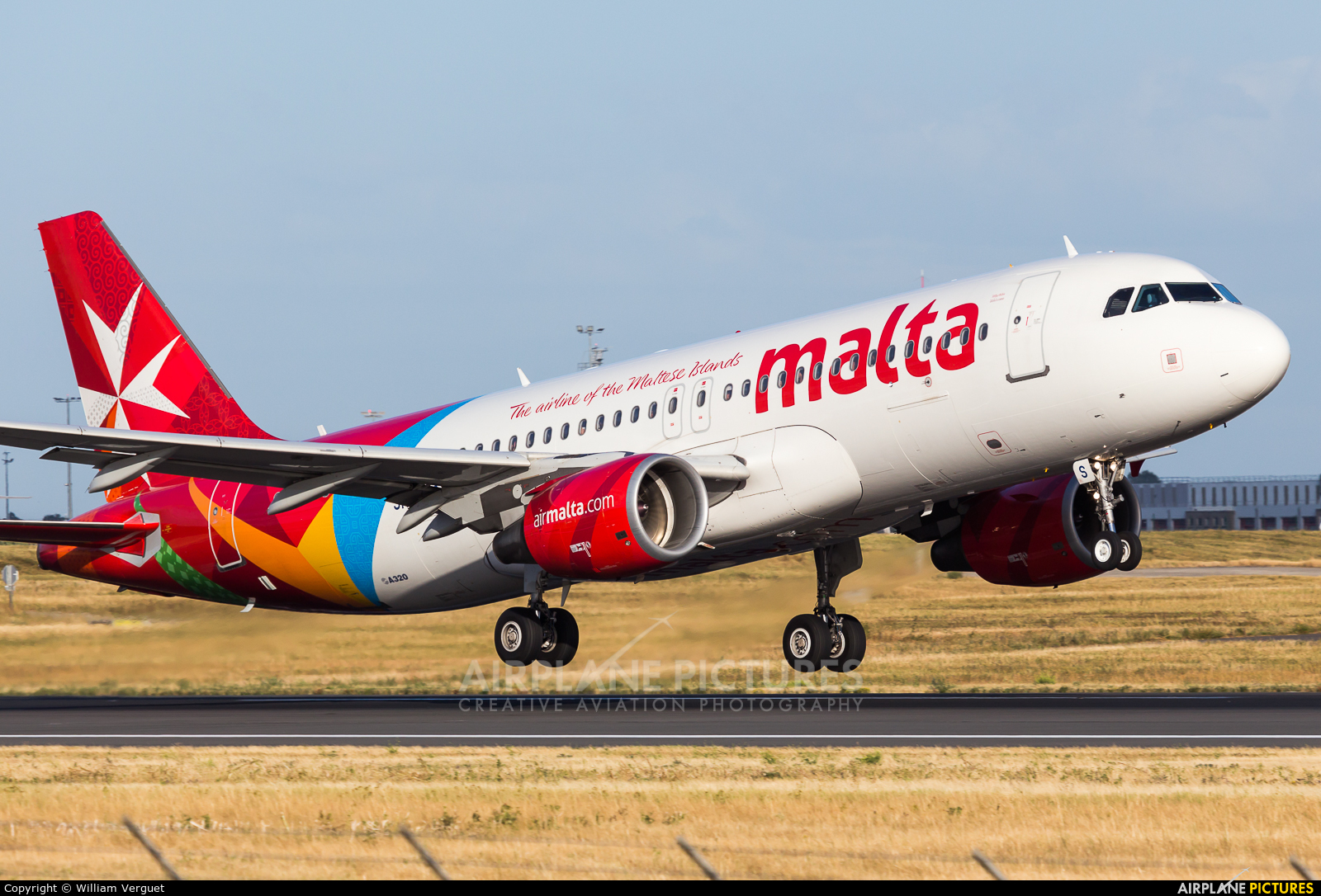 Air Malta 9H-AHS aircraft at Paris - Orly