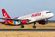 9H-AHS - Air Malta Airbus A320 aircraft