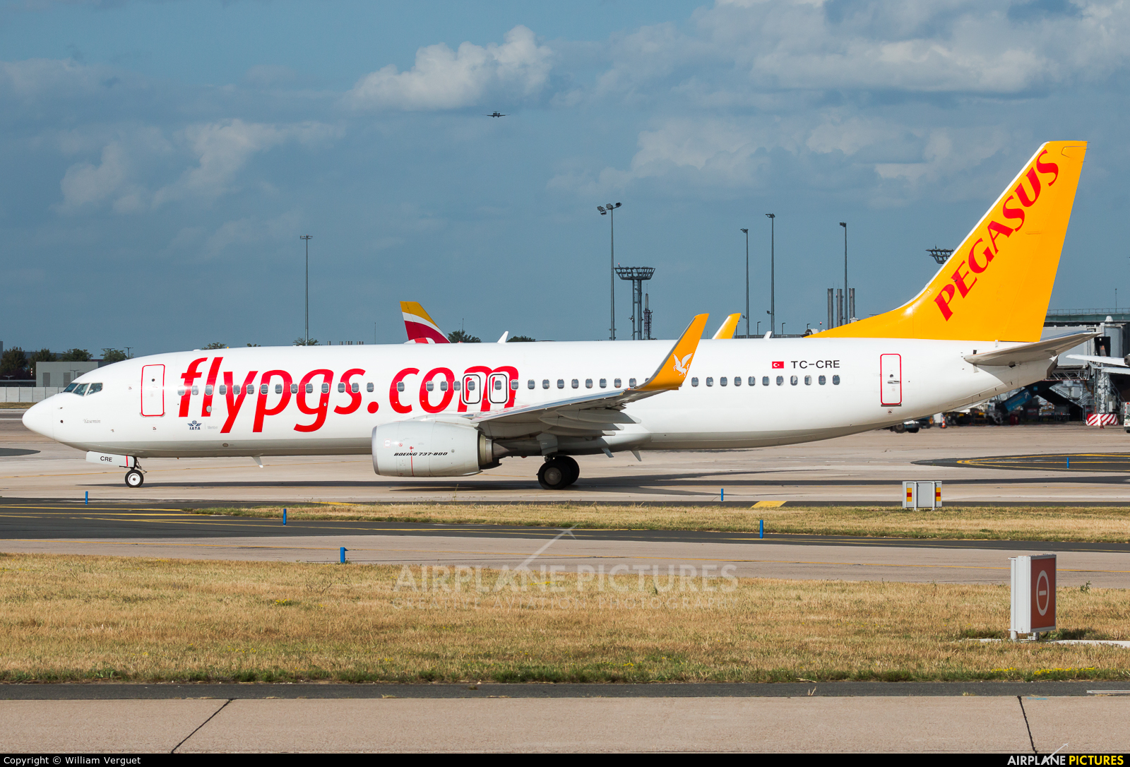 Pegasus TC-CRE aircraft at Paris - Orly