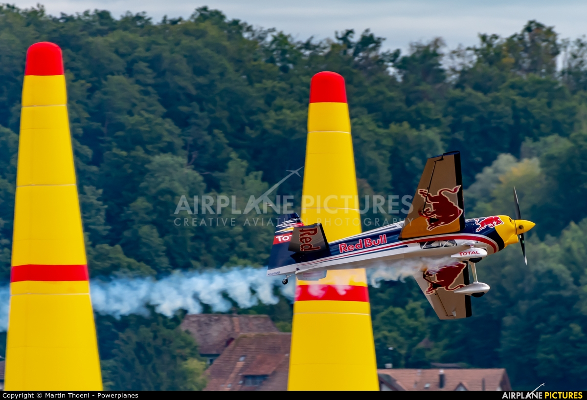Private N540MD aircraft at Grenchen