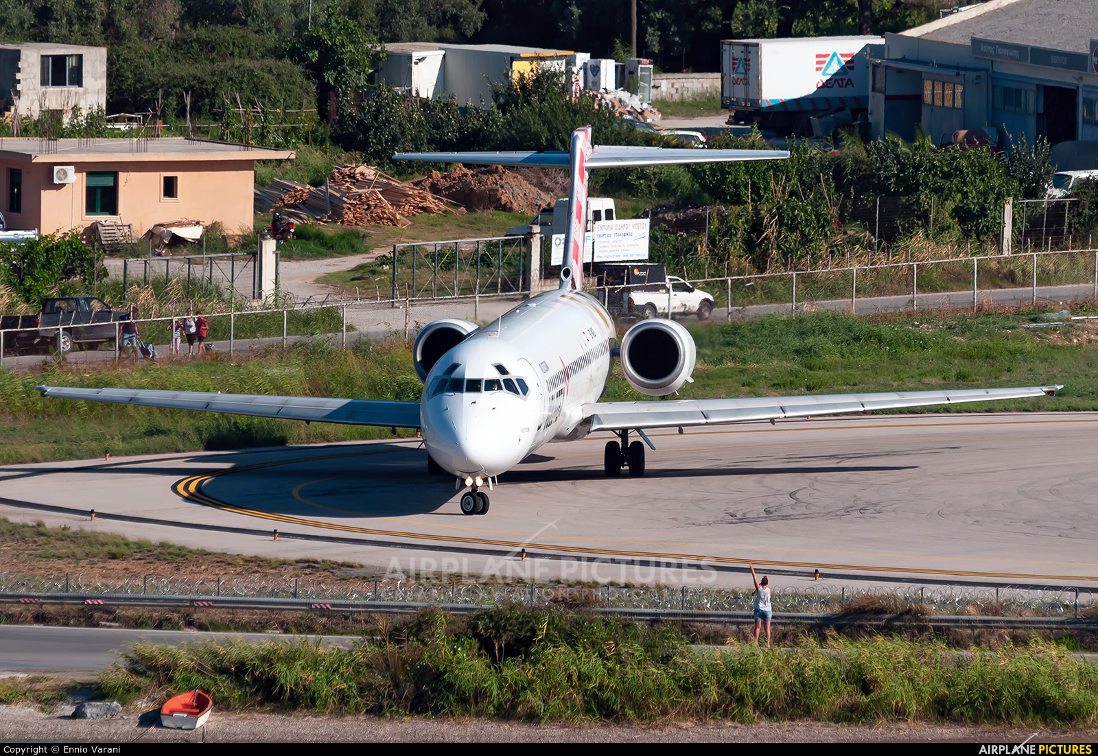 Volotea Airlines EC-MGS aircraft at Skiathos